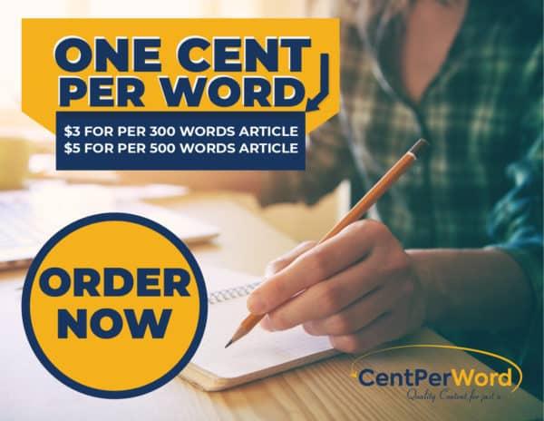 Centper word