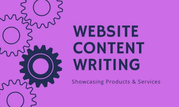 Centper word website content writing